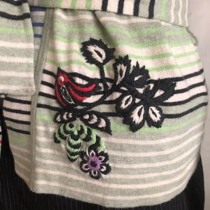 Oilily Sweaters - Oilily Short Sleeve Belted Cardigan Sweater Top